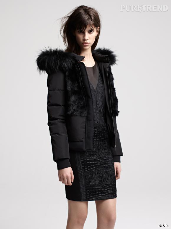 Les manteaux tendances de cet hiver 2013 maje - Manteau comptoir des cotonniers hiver 2013 ...