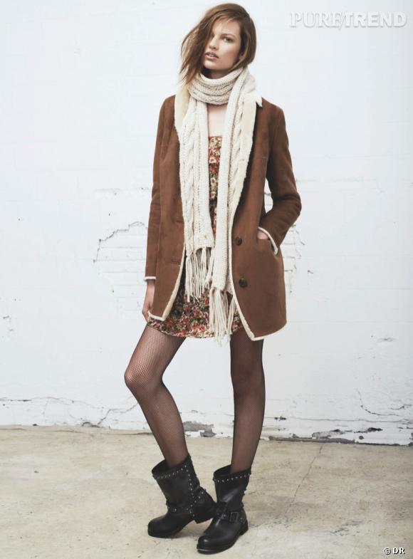 Les manteaux tendances de cet hiver 2013 : Mango