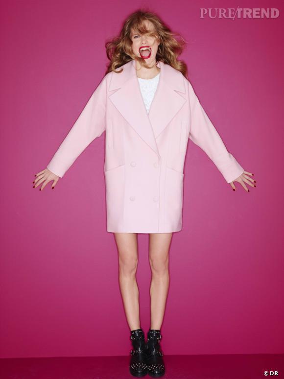 Les manteaux tendances de cet hiver 2013 : Morgan