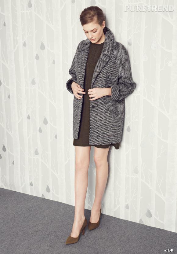 Les manteaux tendances de cet hiver 2013 : Monoprix