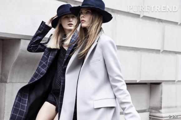Les manteaux tendances de cet hiver 2013 : Zara