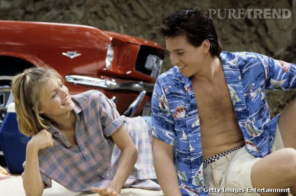 """Le top """"amoureux vintage"""" :  Michelle Pfeiffer et Val Kilmer en 1985 dans la série d'ABC """"Afterschool Special""""."""