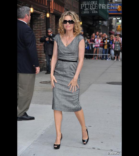 """Le top """"look de working girl"""" :  Michelle Pfeiffer refait un essai, réussi cette fois."""