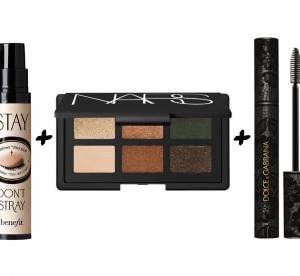 Mascara, fards, eyeliner, base : les bonnes combinaisons pour un regard tendance