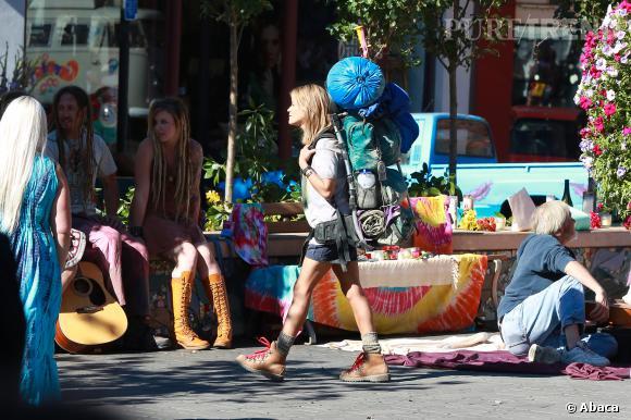 """Reese Witherspoon joue dans le nouveau film de Jean-Marc Vallée, """"Wild"""", dont elle est aussi productrice."""
