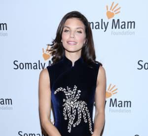 AnnaLynne McCord sur le tapis rouge du gala de la fondation Somaly Mam, la semaine dernière.
