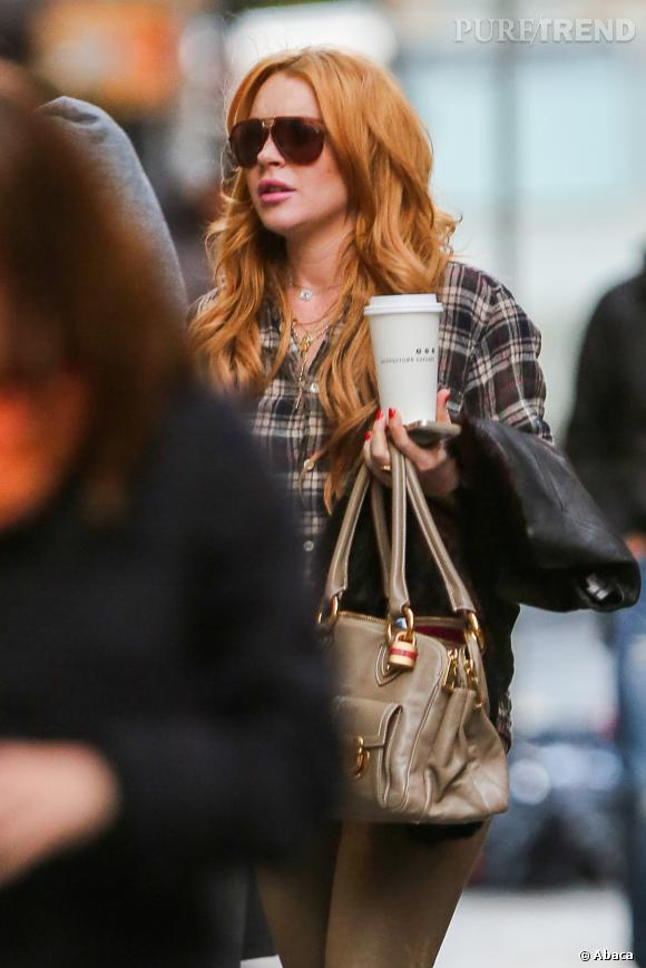 Lindsay Lohan arrive-t-elle à s'en tenir au café et à la limonade ?