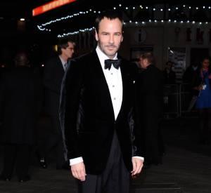 Tom Ford nominé dans la catégorie Créateur de l'année (catégorie Homme) aux British Fashion Awards 2013.