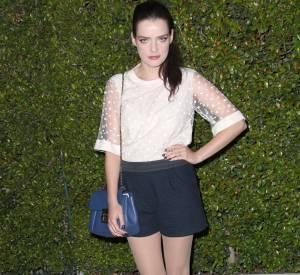 Roxane Mesquida à la soirée Chloé du 29 octobre 2013 à Los Angeles.
