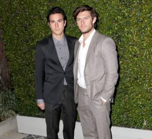 Alex Pettyfer et son demi-frère à la soirée Chloé du 29 octobre 2013 à Los Angeles.