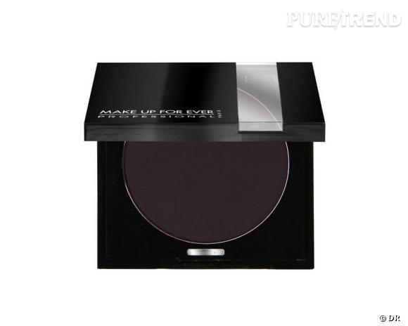 Fard à paupières chocolat noir statiné, Make Up For Ever (chez Sephora), 18,90 €