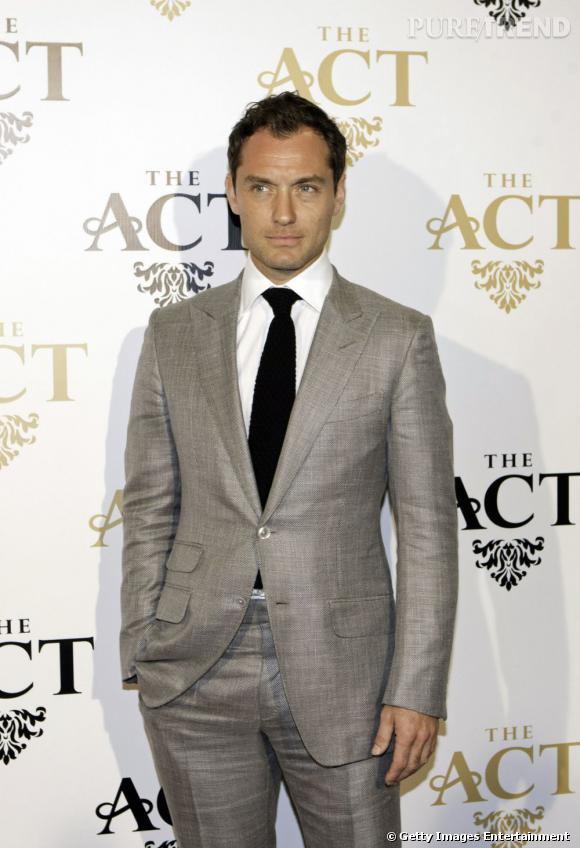 Jude Law, un style de dandy.