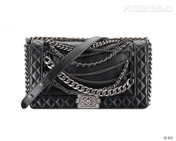 Tendance matelassée, le shopping : sac Boy de Chanel, 3450 €