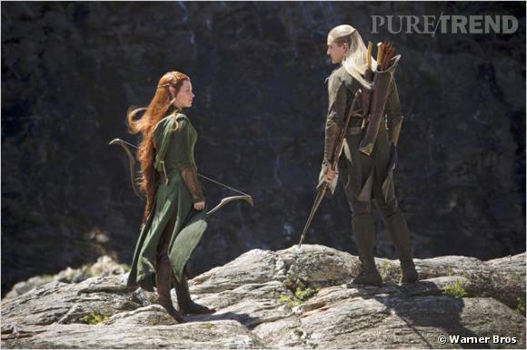 """Orlando Bloom sera de retour dans """"Le Hobbit, la désolation de Smaug"""" avec Evangeline Lilly."""
