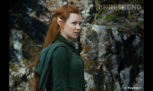 Evangeline Lilly sera Tauriel, une elfe sylvestre.