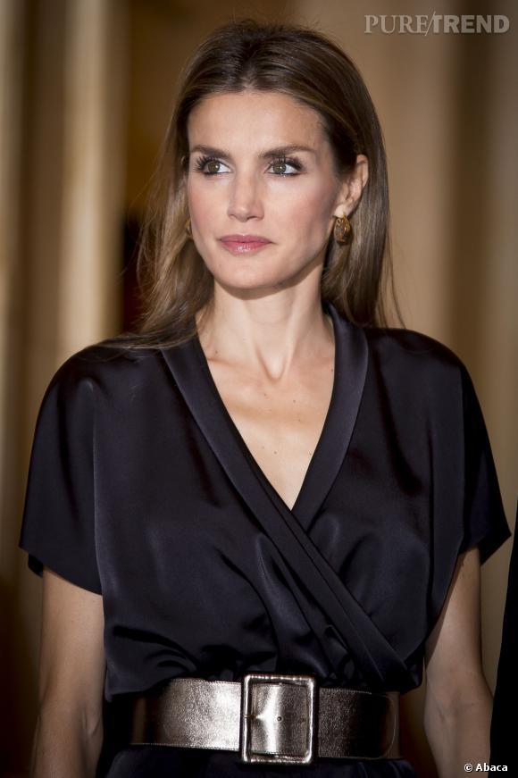 Letizia d'Espagne, jolie princesse.