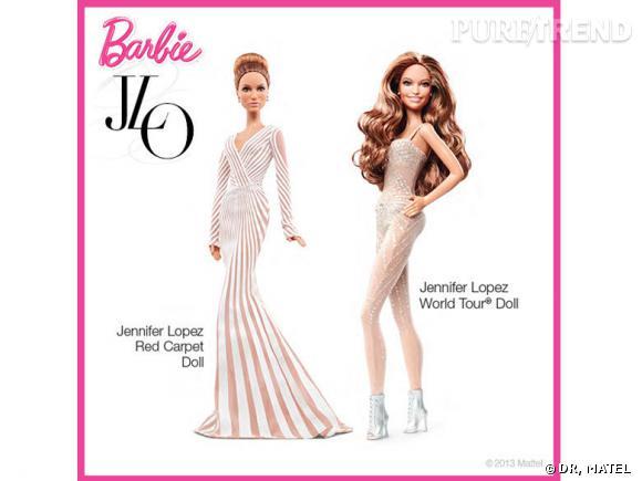 Jennifer Lopez : des Barbie à son effigie.