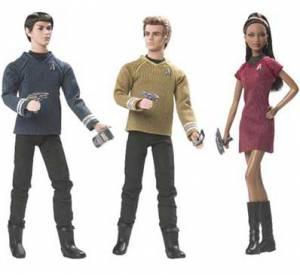 Zachary Quinto, Chris Pine et Zoe Saldana dans Star Trek.