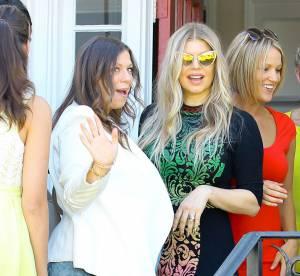 Fergie exubérante et tape-à-l'oeil, elle pique la vedette à sa soeur enceinte !
