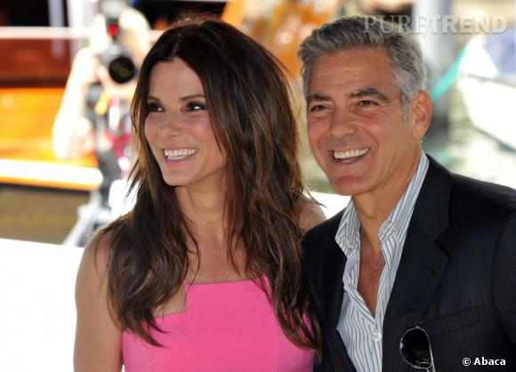 Sandra Bullock et George Clooney, un duo de potes qui ne s'ennuie jamais.