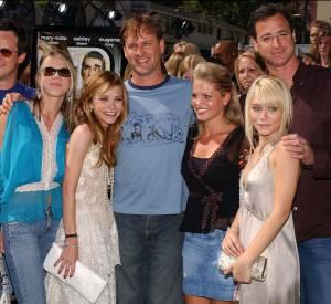 """Le casting de """"La Fête à la Maison"""", série qui a fait connaître les soeurs Olsen."""