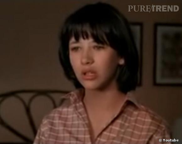 """Sophie Marceau dans """"La Boom"""". Elle a alors 14 ans."""