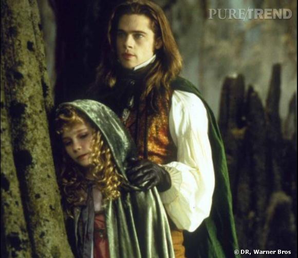 """Kirsten Dunst à 12 ans dans """"Entretien avec un vampire""""."""