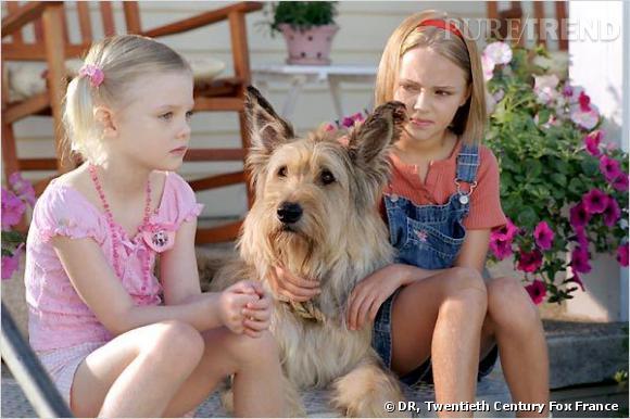 """Elle Fanning est précoce. Elle a 7 ans quand elle tourne dans """"Winn-Dixie mon meilleur ami"""", en 2005."""