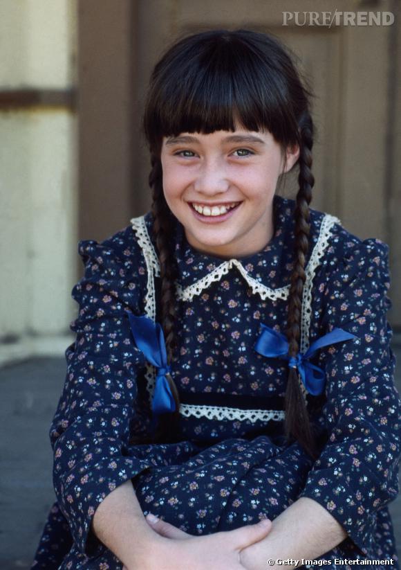 """Shannen Doherty à 11 ans dans """"La Petite Maison dans la Prairie""""."""