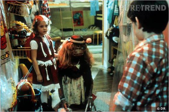 """Drew Barrymore avait 6 ans lors du tournage de """"E.T. l'extraterrestre""""."""
