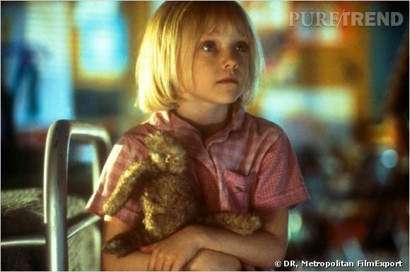 """Dakota Fanning dans """"Sam, je suis Sam"""", son premier rôle. Elle a 8 ans."""