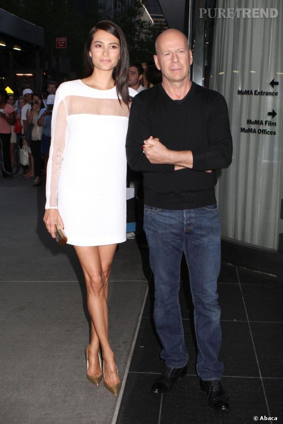 Aujourd'hui en couple avec Emma Heming, Bruce Willis vient d'accueillir une petite Mabel Ray.