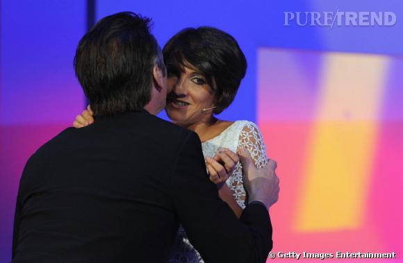 Florence Foresti en César en 2009 fait craquer Sean Penn.