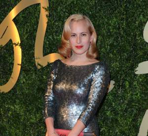 Charlotte Dellal aux British Fashion Awards 2013.