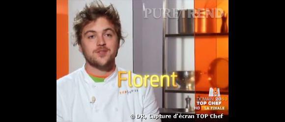Florent de Top Chef balance : il y a eu du favoritisme dans l'émission.