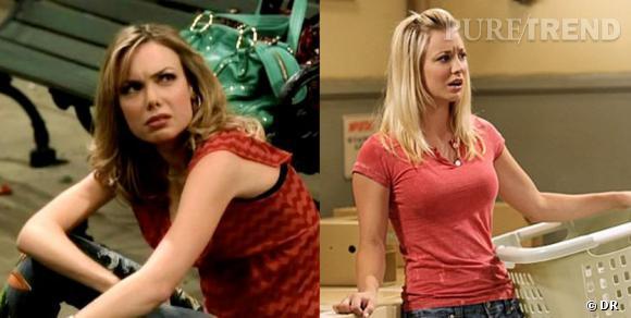 """Dans le premier pilote jamais diffusé de """"Big Bang Theory"""", le personnage de Penny n'existait pas et Amanda Walsh jouait le personnage féminin Katie. Jugée trop """"méchante"""", son personnage a été remplacé par celui de Penny, joué par Kaley Cuoco !"""