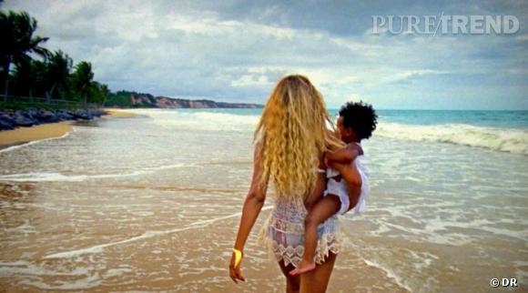 Beyoncé et Blue Ivy sont en duo sur le nouvel album de la chanteuse : Beyoncé, the visual album.