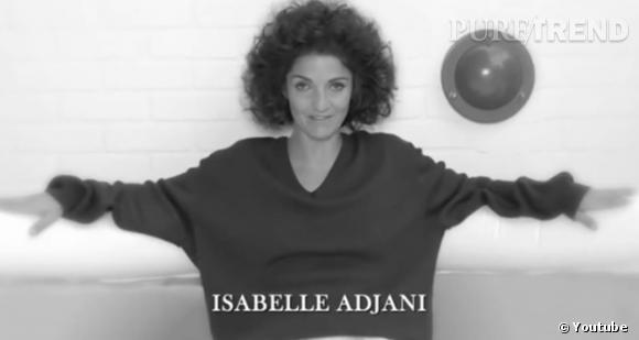 Florence Foresti dans la peau d'Isabelle Adjani.