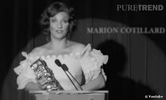 Florence Foresti imite Marion Cotillard.