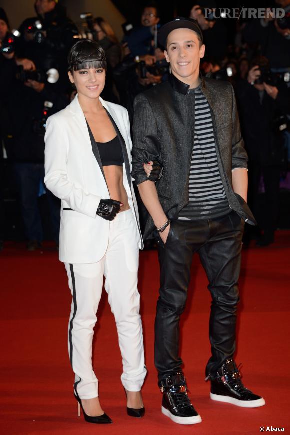 Alizée et Grégoire, en duo sur le tapis rouge des NRJ Music Awards, samedi 14 décembre.