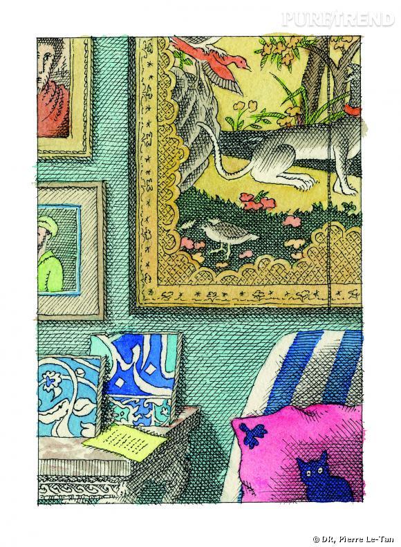 """""""Quelques collectionneurs"""" de Pierre Le-Tan"""