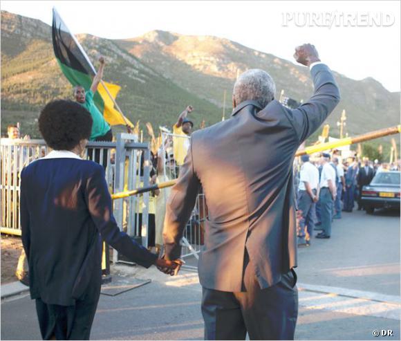 Idris Elba et Naomie Harris incarnent le couple Mandela, au cinéma aujourd'hui.