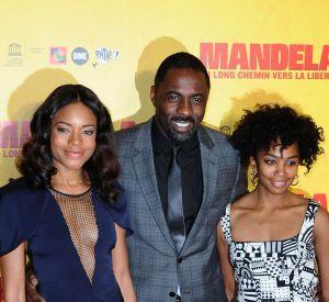 """Interview du cast de """"Mandela"""" lors de la première à Paris du film."""
