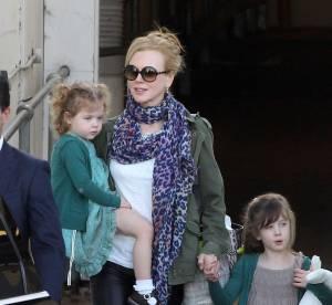 Nicole Kidman : une maman très protectrice avec ses deux fillettes