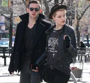 Evan Rachel Wood et Jamie Bell, heureux parents d'un petit garçon né le 29 juillet 2013.