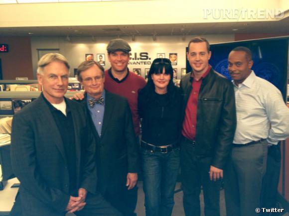"""L'équipe du """"NCIS"""", aussi unie dans la série que dans la vie."""