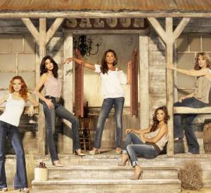 """""""Desperate Housewives"""", les quatre amies liées coûte que coûte."""