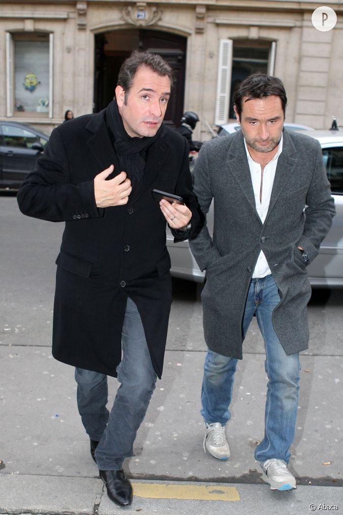 Jean dujardin et son ami de toujours gilles lellouche for Dujardin et lellouche