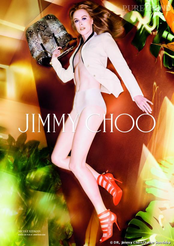 Nicole Kidman pour Jimmy Choo Printemps-Eté 2014