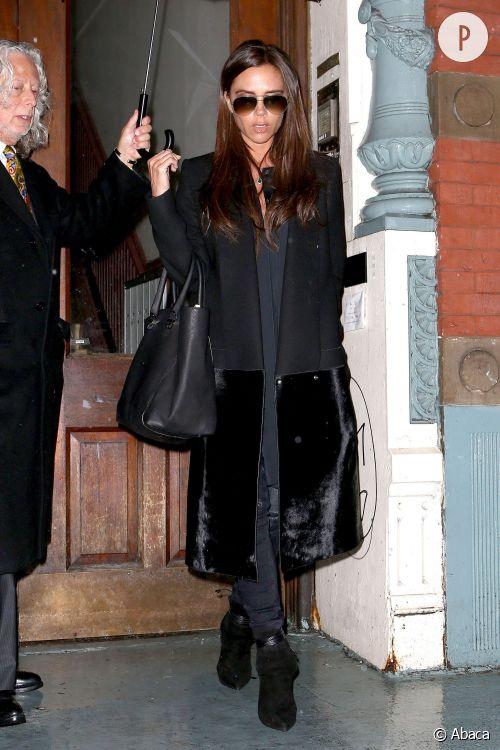 Victoria Beckham dans les rues de New York.